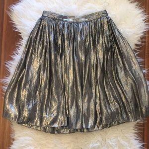 Alice + Olivia Metallic Skirt